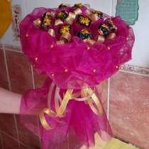 Сладкие букеты из конфет, в Подольске