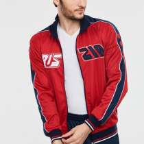 Спортивный костюм мужской 595/2, красный, в Москве