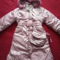 Зимняя куртка на девочку рост 140, в Саранске