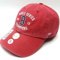 Бейсболка Boston Red Sox Champions (красный), в Москве