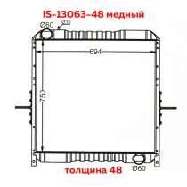Продам радиатор охлаждения двигателя на ISUZU GIGA, в Владивостоке