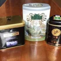 Чай элитный в жестяных баночках, в г.Солигорск