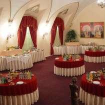 Скатерти, фуршетные юбки, чехлы на стулья для ресторанов и к, в Самаре