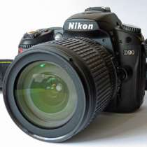 Nikon D90 Kit 18-105 Nikkor Новая без пробега, в Калининграде
