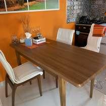 Продаётся обеденный раздвижной стол и 4 стула, в г.Анталия