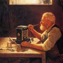 Ремонт настенных механических часов с кукушкой и боем, в г.Черкассы