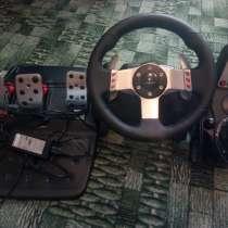 Игровой руль Logitech g27, в Брянске