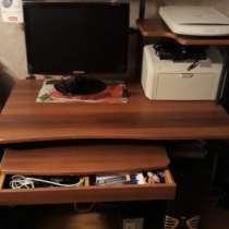 Продаётся стол компьютерный стол вместе с техникой, в Казани