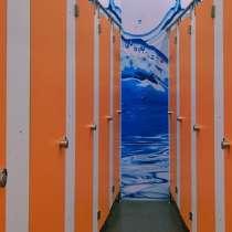 Система сантехнических туалетных перегородок HPL 12 мм, в Москве