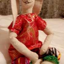 Игрушка Зайка, авторская кукла, в г.Ташкент
