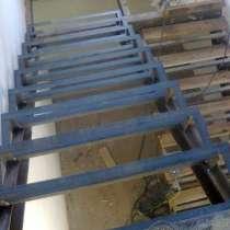 Лестницы на металлокаркасе на второй этаж, в Перми