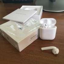 Продам Apple Airpods 2 c беспроводной зарядкой, в Белорецке