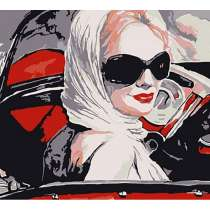 Рисование картин по номерам. «Автоледи». 30х40см, в Челябинске