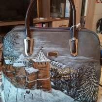 Эксклюзивные сумки с ручной росписью, в Дзержинске