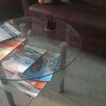 3000р столик стеклянный, в Озерске