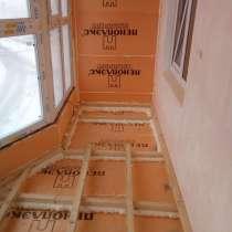 Утепление Отделка балконов, в Томске