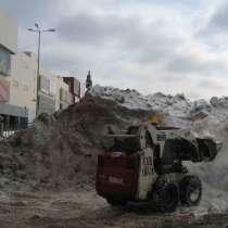 Уборка снега, в Москве