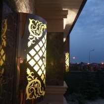Фасадные БРА из нержавеющей стали, в г.Астана