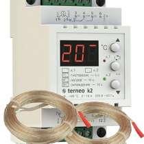 Двухканальный терморегулятор terneo k2 от -9 до +99 °С, в Нижнем Новгороде
