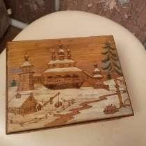 Шкатулка деревянная винтаж СССР, в Королёве