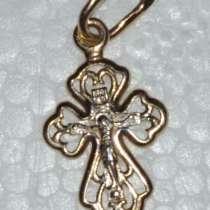 Детский крестик золотой, в г.Витебск
