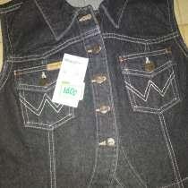 Новый женский джинсовый жилет черного цвета 34 размера, в Пятигорске