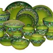 Керамическая кухонная посуда с росписью, в Москве