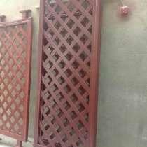 Декоративное деревянное террасное ограждение, в г.Бишкек