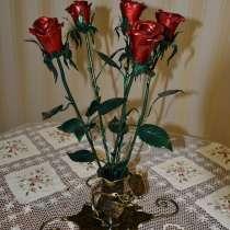 Кованные розы, в Санкт-Петербурге