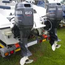 Лодочный мотор Yamaha F60CETL, в Москве