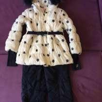 Куртка с комбинезоном зимняя Comusl США. Натур. мех, в Волгограде