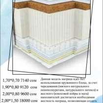 Матрас «Sleep & Fly» - двухсторонний матрас 0501211500, в г.Бишкек