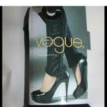 Гетры новые Vogue вязаные чёрные кружева гипюр вставки, в Москве