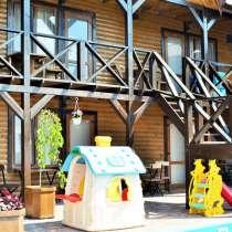 Двухуровневый дачный дом 407 кв. м на берегу Черного моря, в Саках