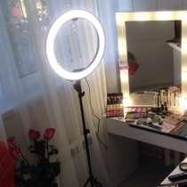 Кольцевая лампа LED (светодиодная) для индустрии красоты, в г.Уральск