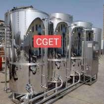 СИП станция 1000л для пивоварни материал из Нержавейки, в г.Цзинань