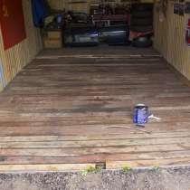 Отделка гаража, настил полов, в Омске