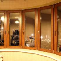 Дешевые деревянные окна со стеклопакетом для дома и дачи, в Москве