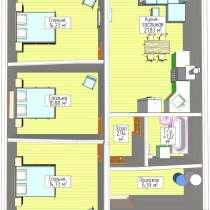 3-к квартира, 64 м², 1/9 эт, в Уфе