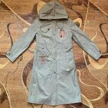 Пальто 146 размер Серое, в Москве