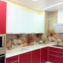 стеклянный фартук для кухни, в Новосибирске