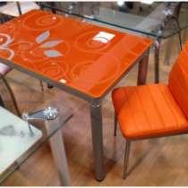 Стеклянные столы и стулья!, в Москве