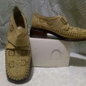 Туфли женские нубук б/у размер 38-39, в Владимире