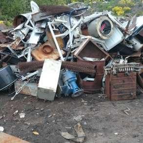 Вывоз металлолома с дачи участка гаража организации, в Нижнем Новгороде