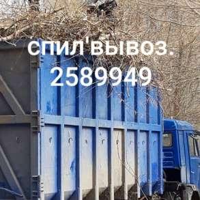 Спил и вывоз деревьев, в Новосибирске