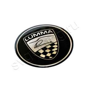 Эмблема Lumma на крышку багажника BMW, в Москве