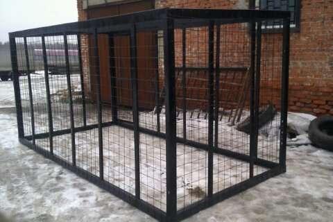Вольеры для собак, птиц из сетки