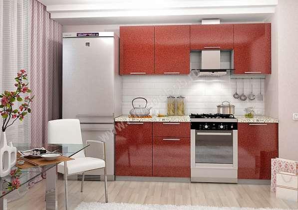 Кухни с фото печатью 2 м