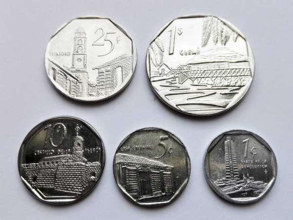 Монеты конвертируемые песо (кук) - Куба