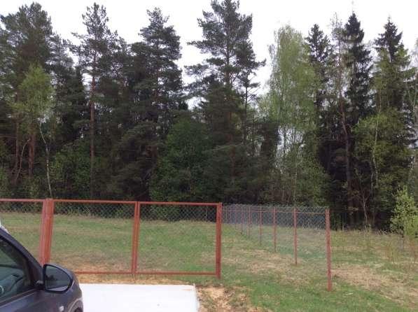 Продаю участок у леса с элитным брусом 80 км от МКАД